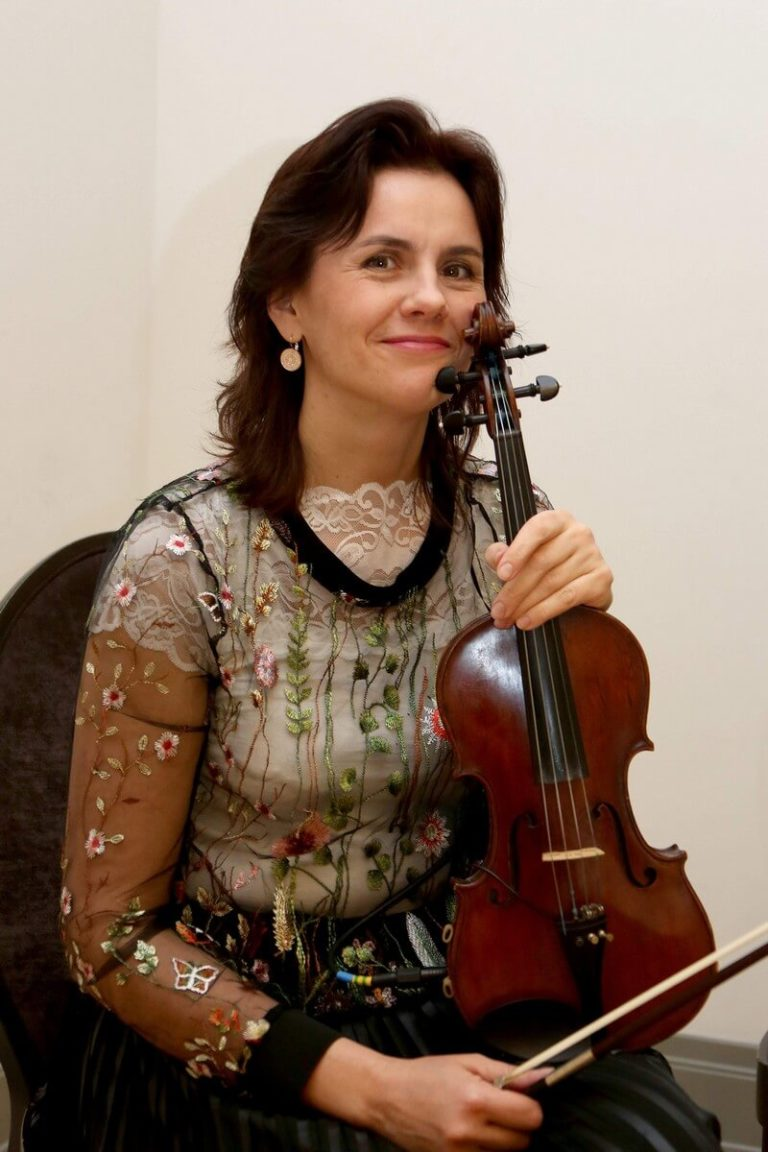 Smuikininkė Viktorija